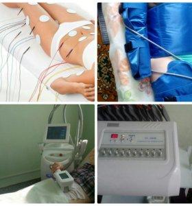 Аппаратный антицеллюлитный массаж, коррекция веса