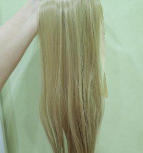 Волосы хвост