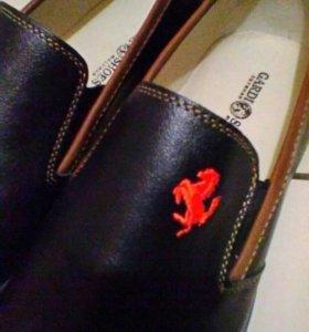 Новый мужской обувь.м.н.кожа, цена 4200р продам 27