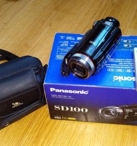 Видеокамера Panasonic HDC-SD100