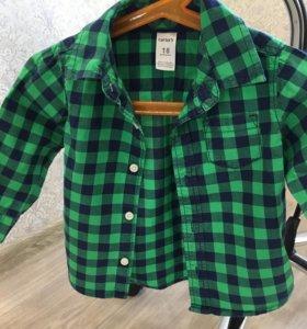 Рубашка на мальчика 18м
