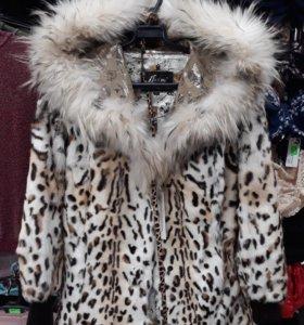 Куртка из натурального меха -коза
