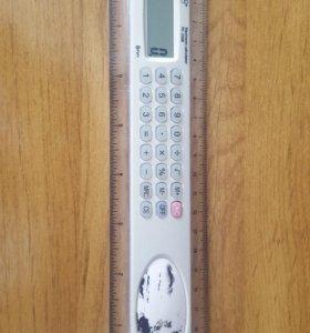 Калькулятор с линейкой