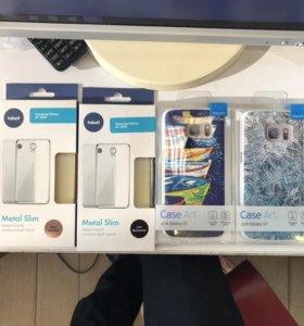 Чехлы на Samsung galaxy s7 и a7 новые