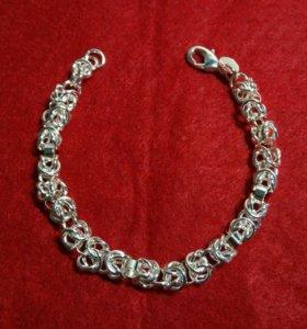 Женский серебряный браслет 925 пробы (Новый)
