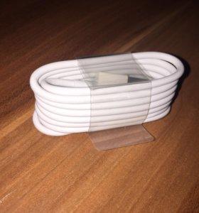 Оригинальный кабель на iPhone