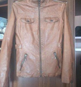 Кожаная куртка(торг)
