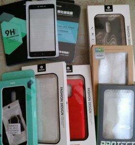 Бамперы и стекла для Xiaomi Redmi Note 4x