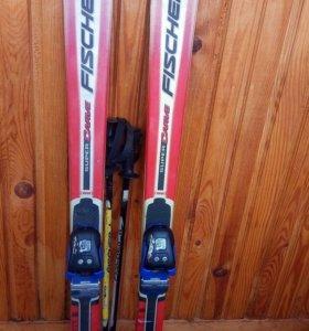Горные лыжи детские 138см