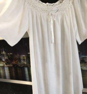 Платье-рубашка-туника