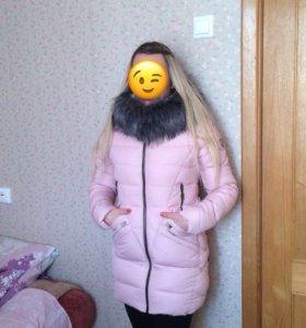 Зимняя куртка новая на синтепоне