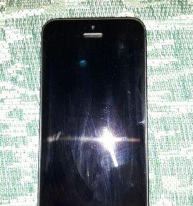 Продам или обменяю iPhone 5 black