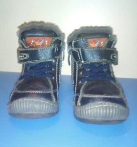 Ботинки зимние (размер 22)