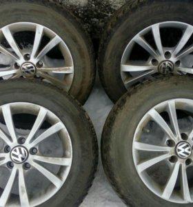 Зим. шины с дисками