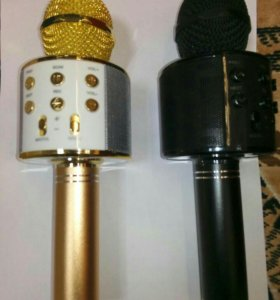 Микрофон-колонка караоке WS-858 Bluetooth