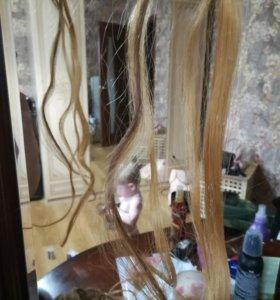 Волос для наращивания .