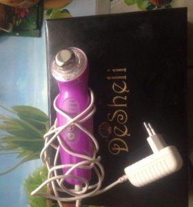 Электро прибор для массажа лица Desheli