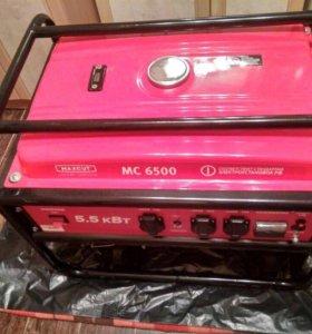 Бензиновый электрогенератор maxcut mc6500