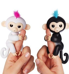 Fingerlings Интерактивная игрушка Обезьянка 12 см