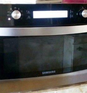 Духовка+микроволновка+пароварка Samsung (3 в 1)