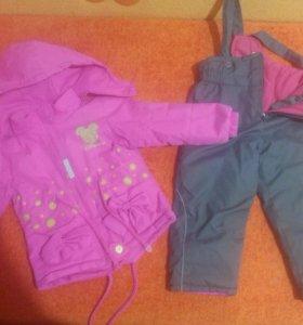 Одежда для девочки на 1-3 года