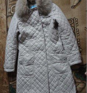 Пальто на легком синтепоне