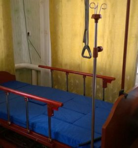 Многофункциональная кровать с электроприводом.