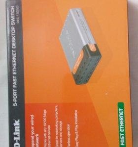 Новый Модем D-Link DES-1005D/DES-1008D