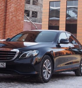 Аренда Mercedes-Benz E-klasse под такси