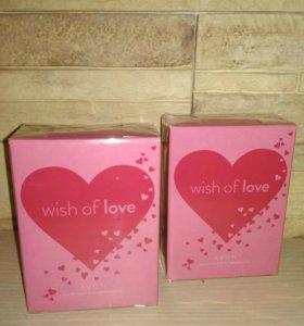 Туалетная вода - Wish of love