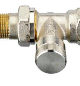 Клапан запорный радиаторный прямой