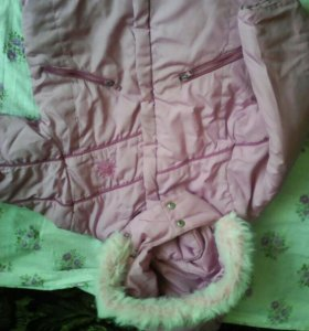 Зимняя куртка, 3-4 года