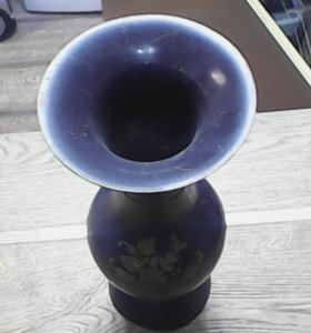 Индийская ваза ручной работы