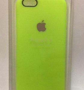 Накладка на iPhone 6 Leather TPU Case