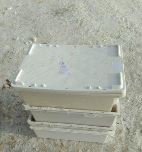 Ящики для хранения мясо рыбы бу