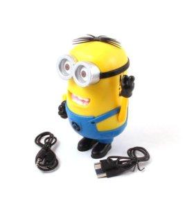 MP3 колонка Миньон Джордж (FM / TF / USB)