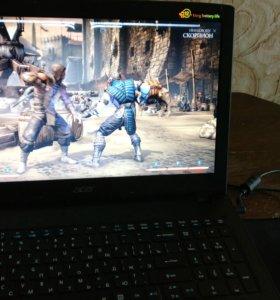 Игровой ноутбук aser aspire E 15