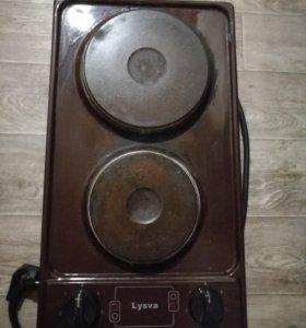 Плита электрическая, варочная панель lysva
