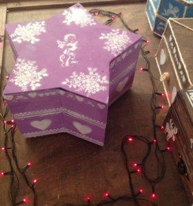 Подарочная интерьерная коробка