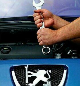 Автосервис, Авторемонт Renult, Citroen,Peugeot