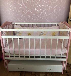 Кроватка детская «Бам Бини»