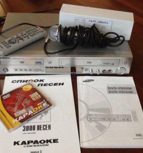 Комбо DVD/VHS-плеер Samsung DVD-V8500K