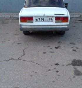 ВАЗ (Lada) 2107, 1999