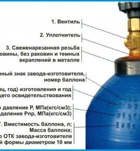 Пропановые и кислородные баллоны
