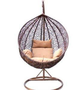 Подвесное кресло КМ 0001 М с подушкой и основанием