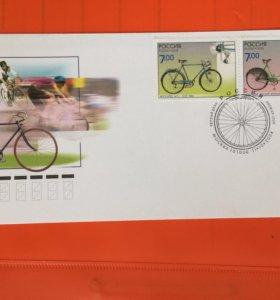 Конверт первого дня Велосипедный спорт