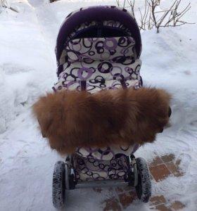 Зимняя коляска.