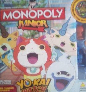 Monopoly junior yo-ka watch