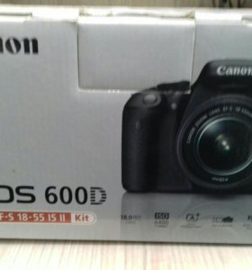 Canon 600d 18-55 is