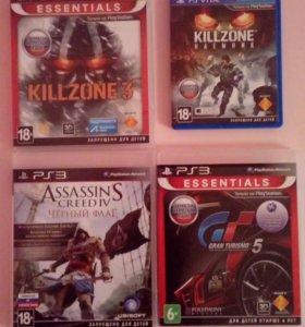 Диски для PS 3 и PS Vita